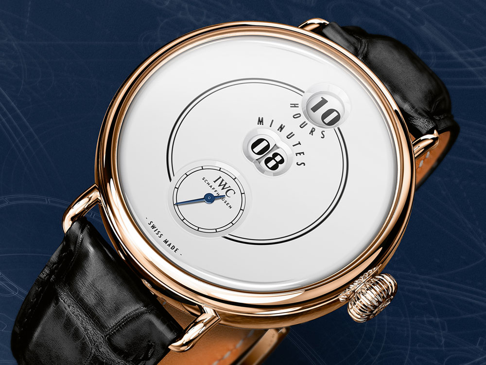 """IWC Tribute to Pallweber Edition """"150 Years"""""""