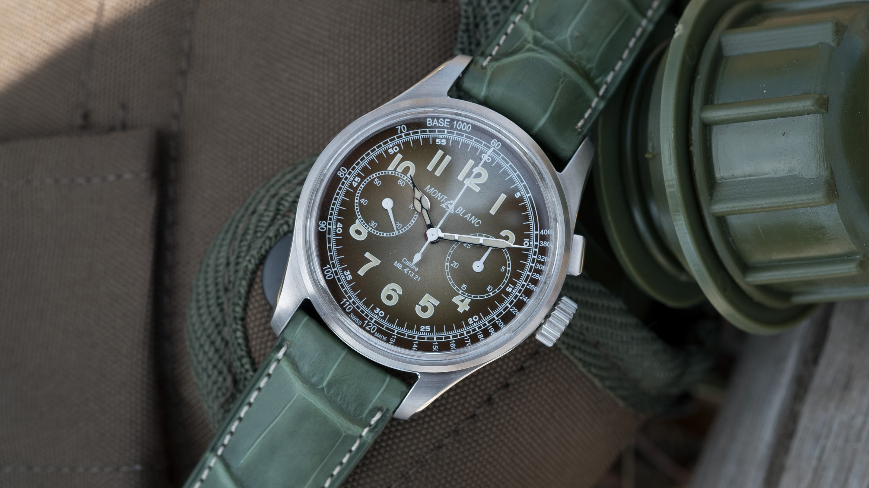 Montblanc 1858 Monopusher Chronograph Limited Edition 100