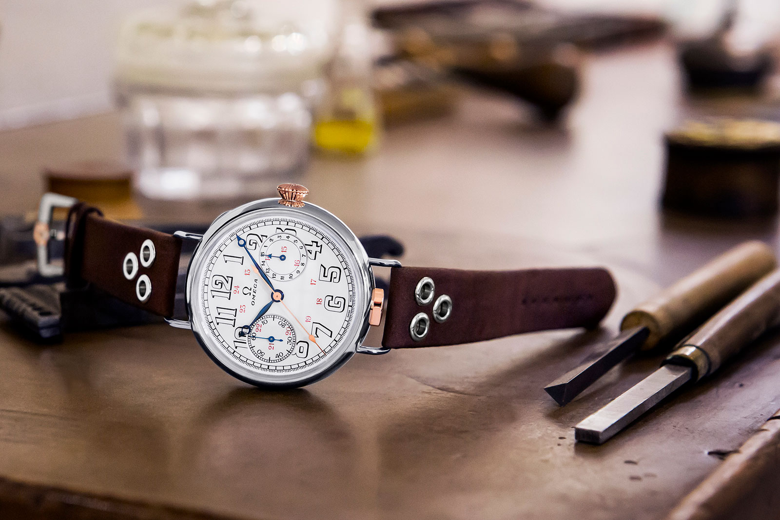 Omega First Wrist-Chronograph Limited Edition cover
