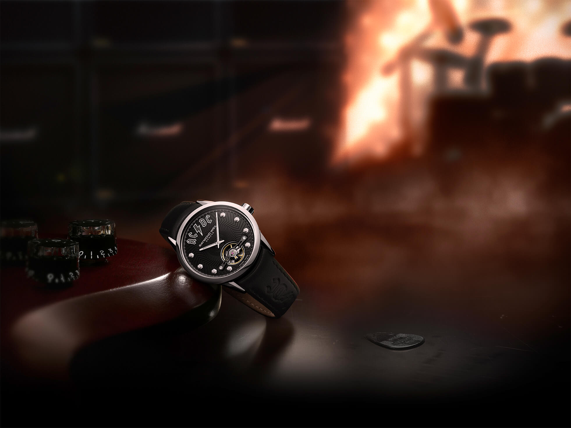 Raymond Weil Freelancer AC/DC Limited Edition