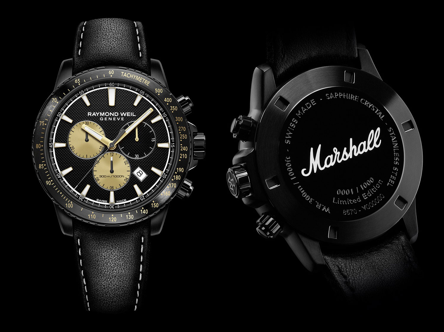 Raymond Weil Marshall Amplification Limited Edition