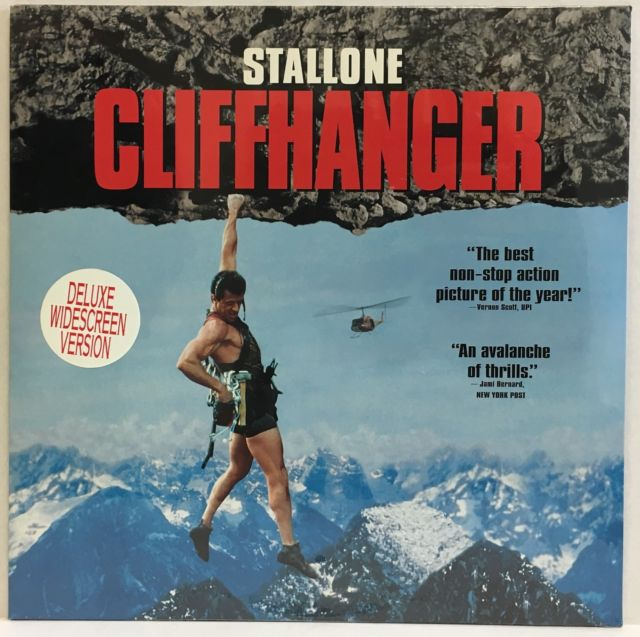 Cliffhanger uit 1993 op Laser Disc!
