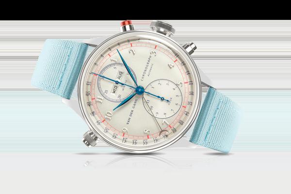 De 41 mm stalen Van der Gang Watches Original 20052