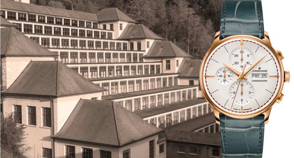 Het horloge en de inspiratiebron voor de naam in één beeld