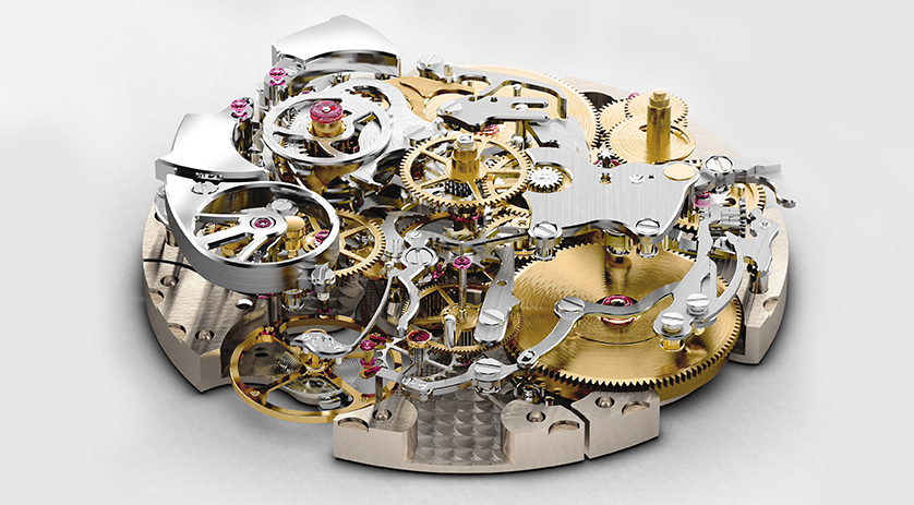 Het ultra gecompliceerde uurwerk van de Chopard L.U.C Full Strike
