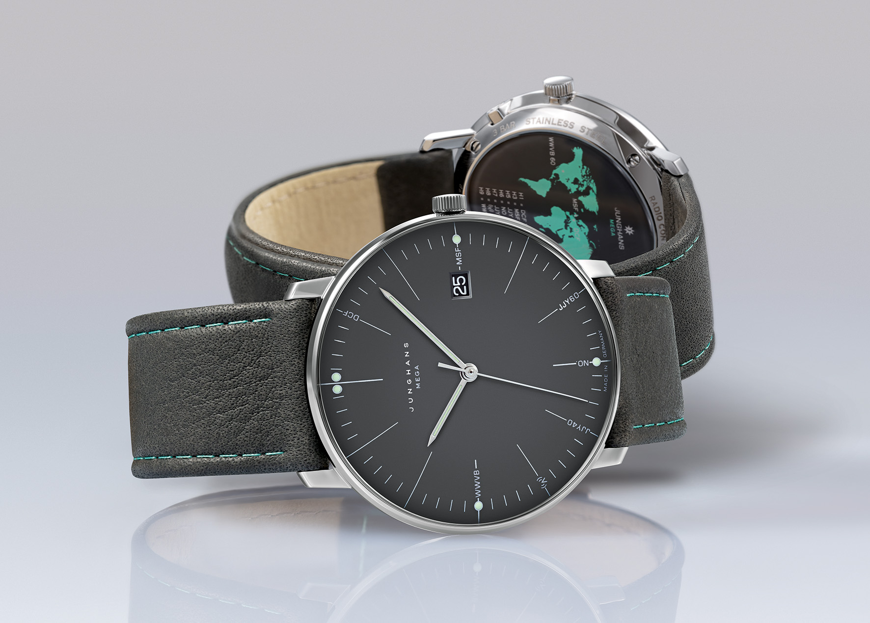 Junghans Max Bill Mega cover