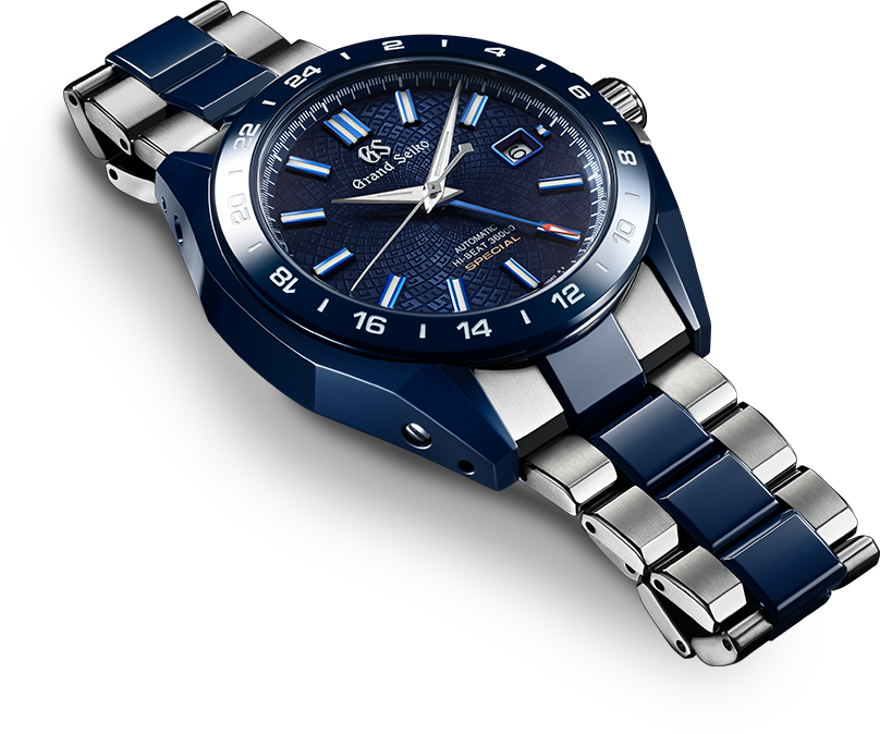 Grand Seiko Blue Ceramic Hi-Beat GMT 36000 Limited Edition in volle glorie