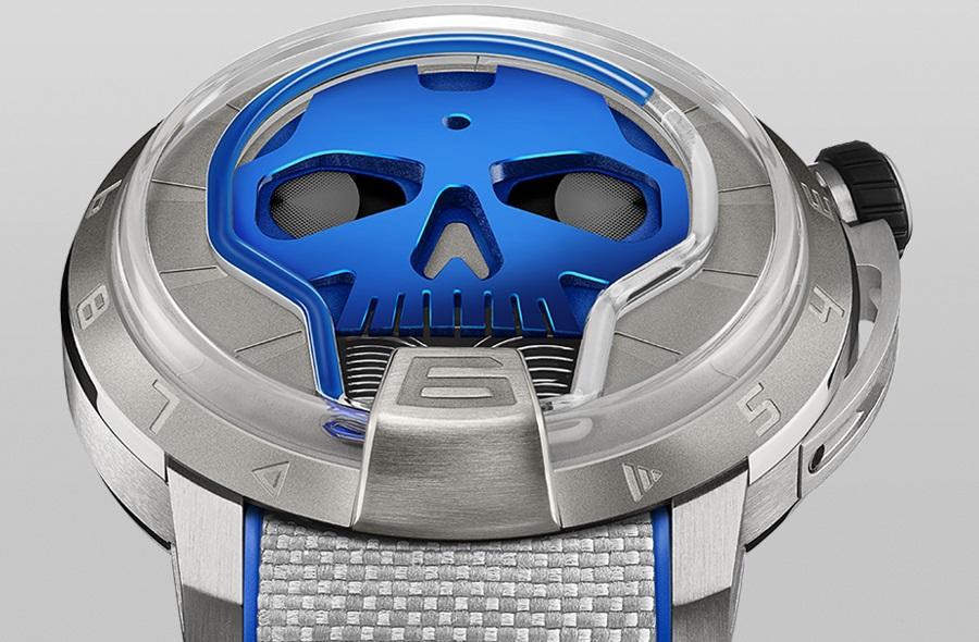 HYT Skull 48.8 Blue cover