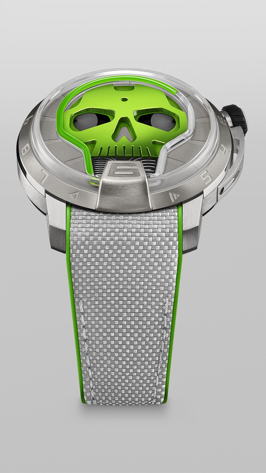 HYT Skull 48.8 Green