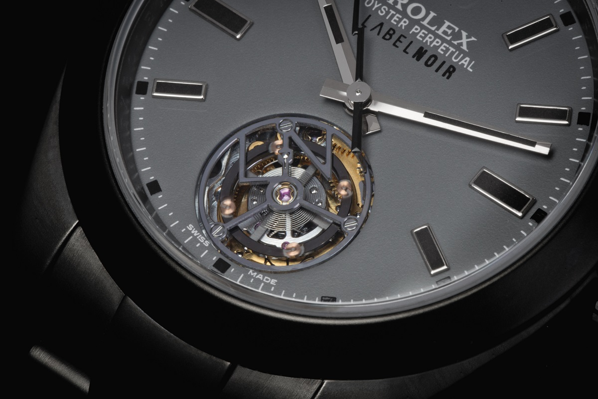 Rolex Milgauss Tourbillon door Label Noir cover