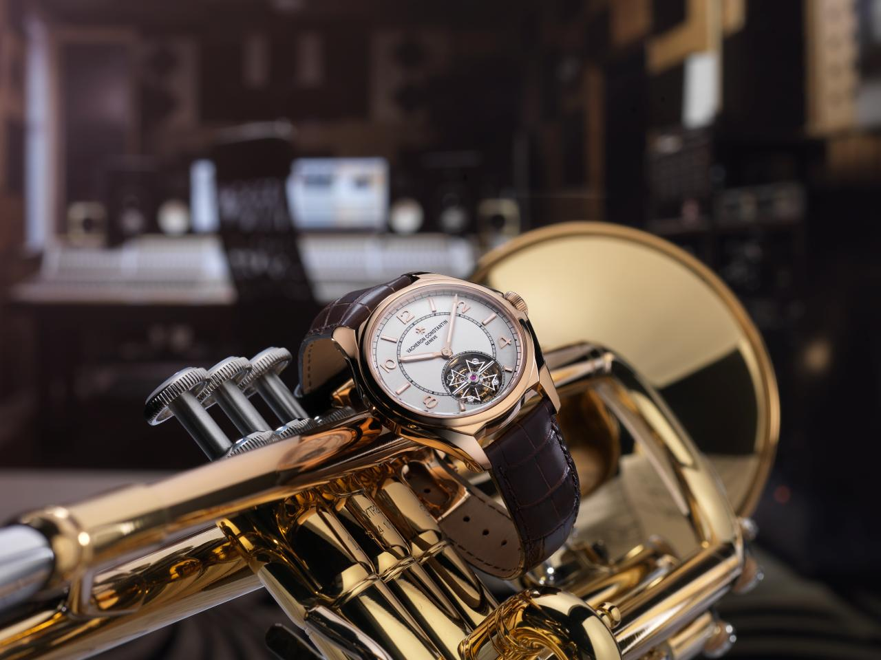 Vacheron Constantin FiftySix Tourbillon in de Abbey Roads Studios