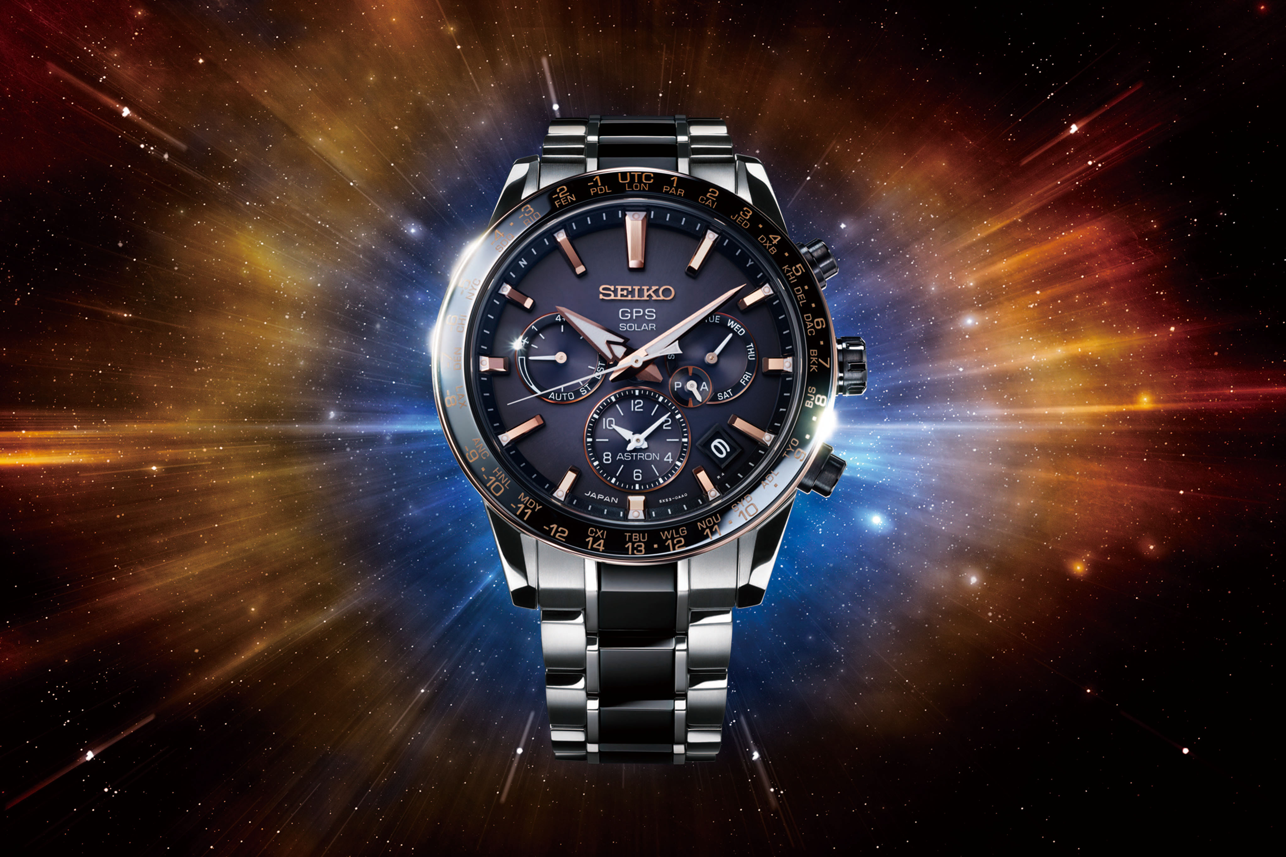 Astron GPS Solar 5X SSH007 Limited Edition