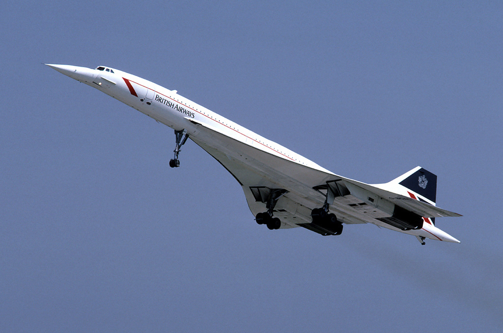British Airways Concorde G-BOAC