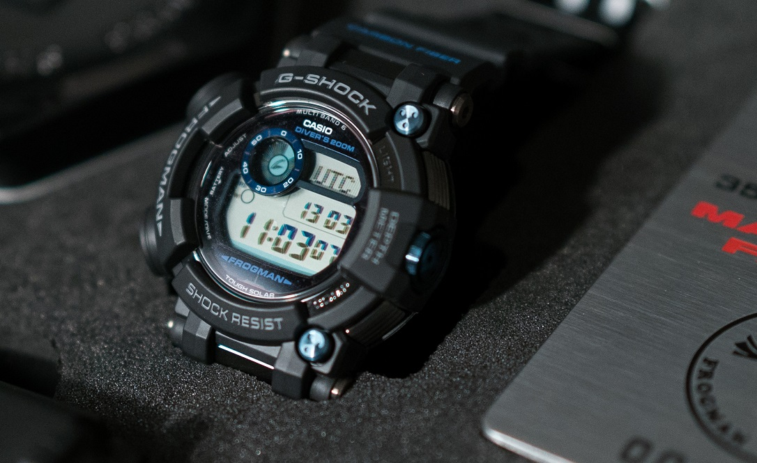 G-Shock Frogman Limited Edition GWF-D1000 cover