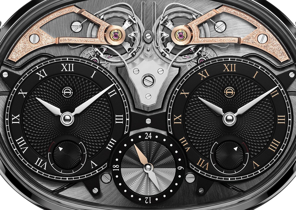 Close-up van de Masterpiece 1 Dual Time Resonance