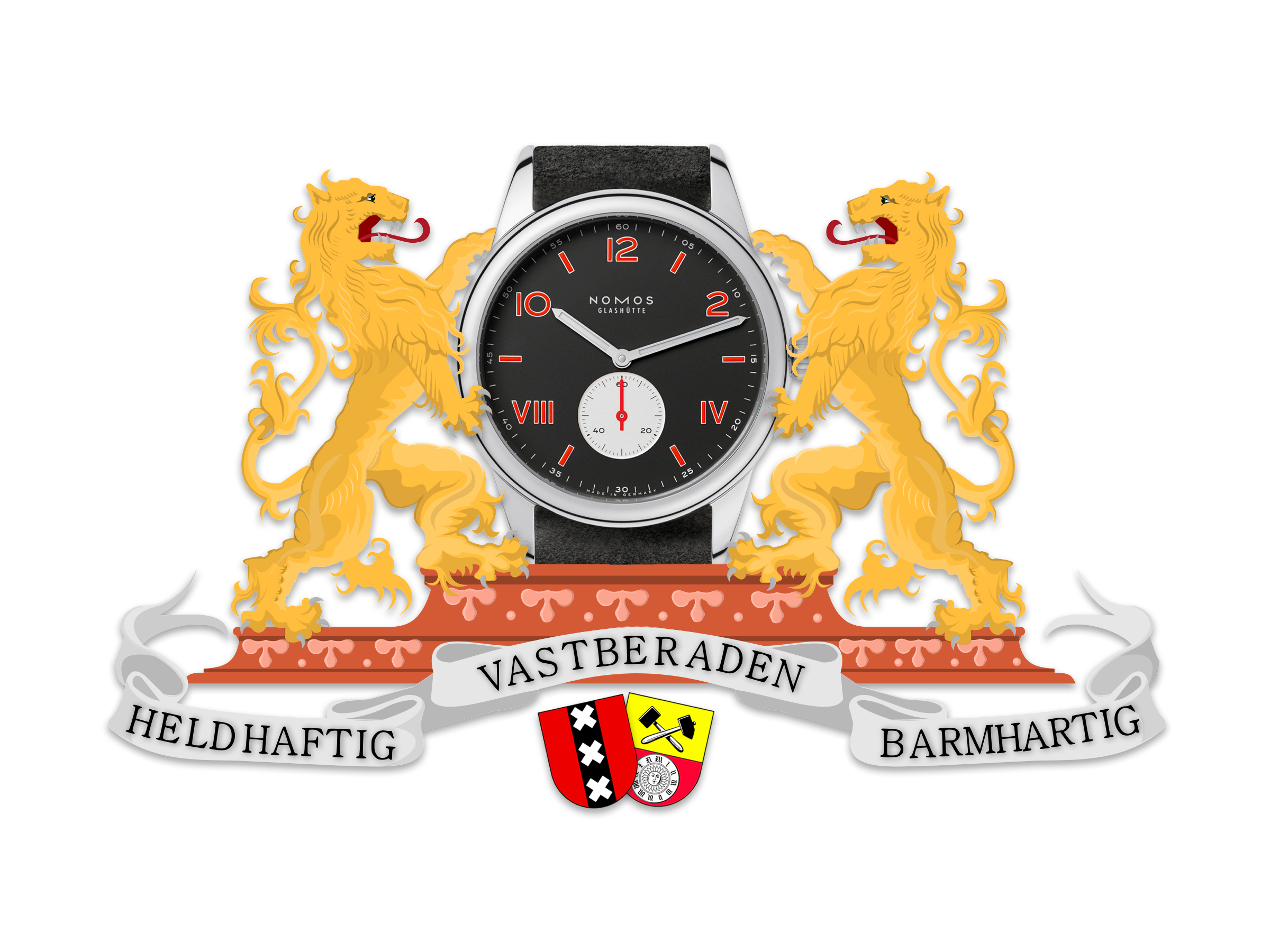 van de Ace x Nomos Glashütte Club Campus Amsterdam is bepaald geen achenebbisj horloge, wel heel Amsterdams