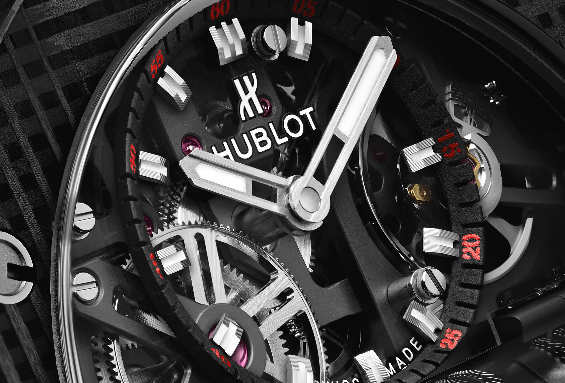 Hublot Big Bang MP-11 in close-up