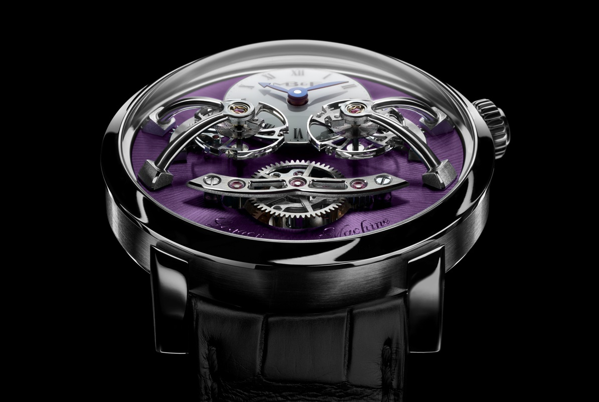 MB&F LM2 White Gold Purple cover