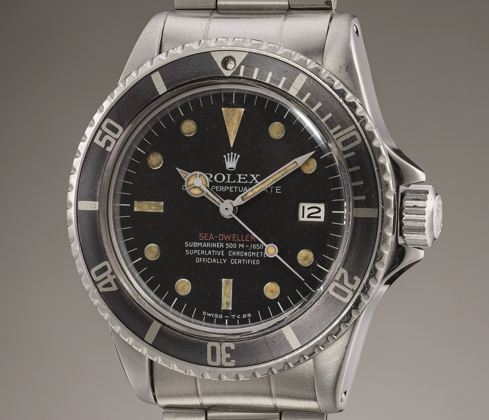 Rolex Sea-Dweller reference 1665 Single Red prototype zonder heliumventiel