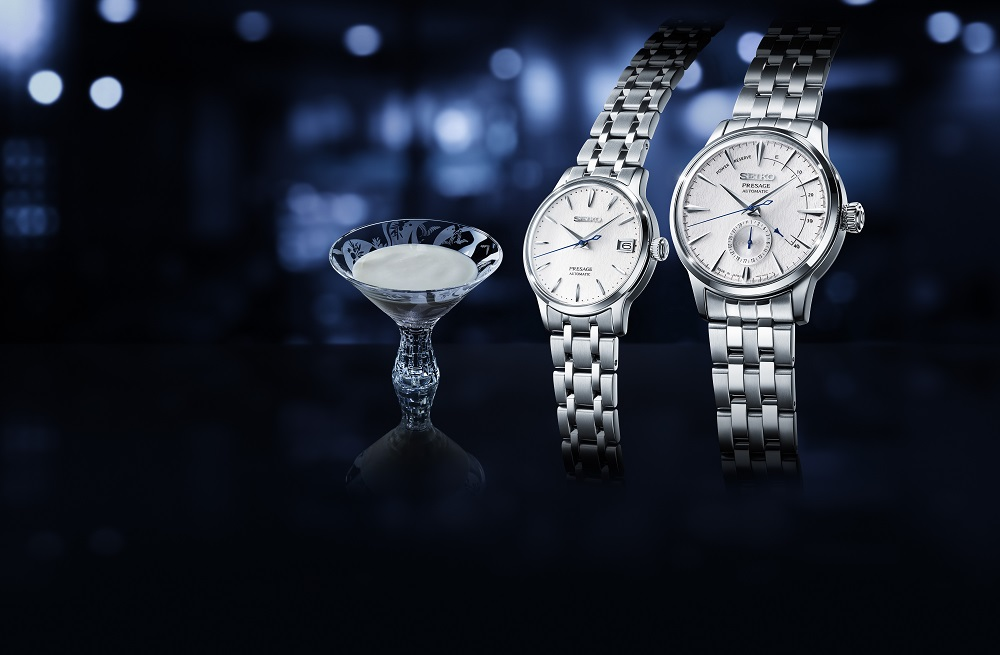 Drie Seiko Presage Cocktail Fuyugeshiki Limited Editions