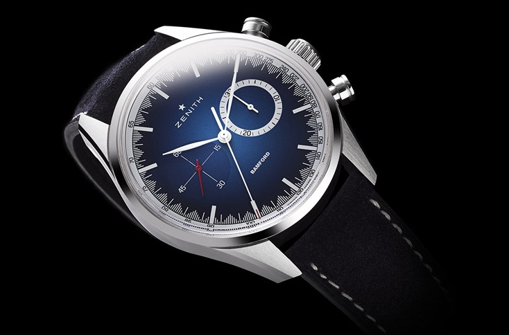 Zenith doet het met MR PORTER en Bamford Watch Department
