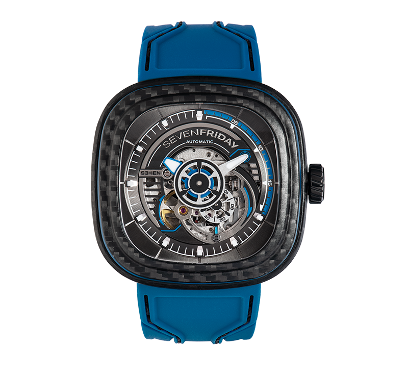 SevenFriday S3/02 Carbon Off Series