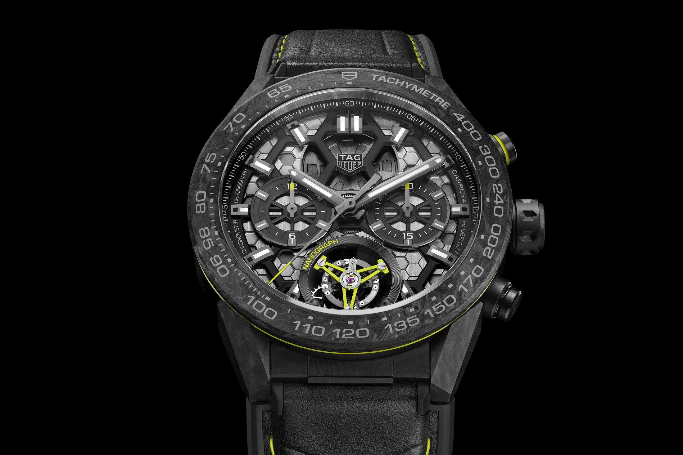 Dit zou de nieuwe TAG Heuer Max Verstappen moeten zijne Max Verstappen horloge moeten zijn