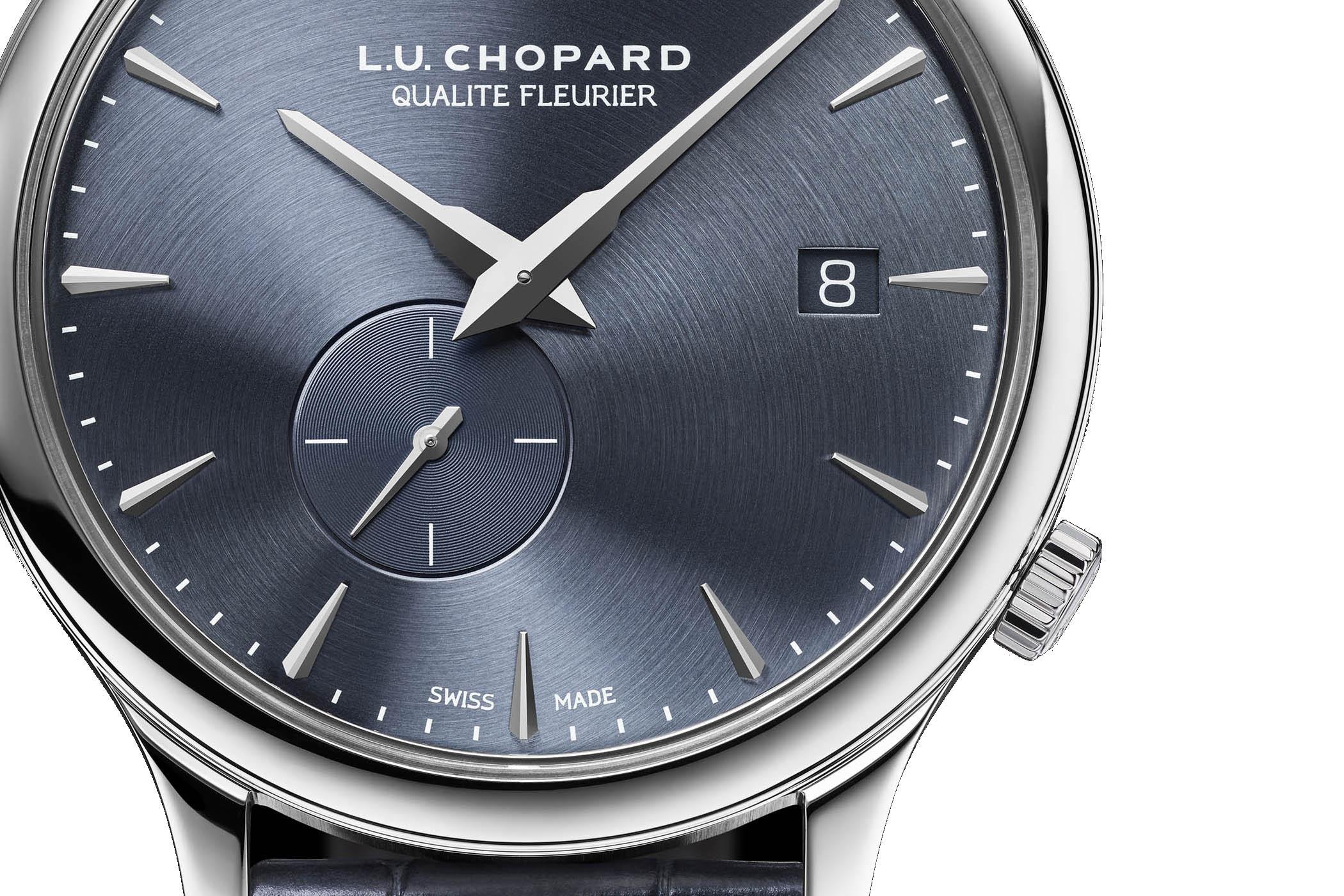 De zeer elegante en precieze Chopard L.U.C XPS Twist QF in wit Fairmined goud