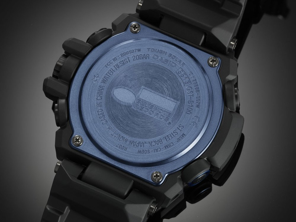 G-Shock GST-B100BNR Blue Note Records