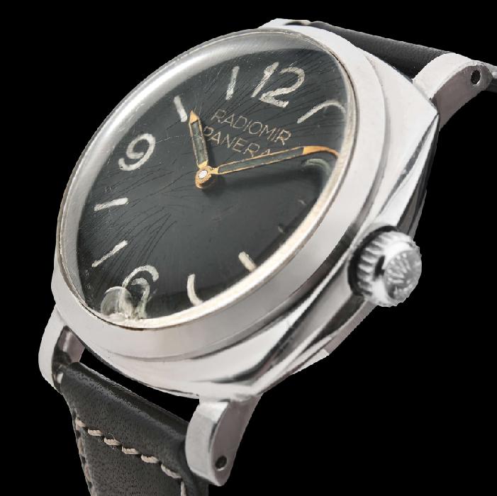 Twee bijzondere Panerai Radiomirs met Rolex-uurwerk geveild