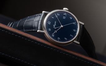 Breguet Classique 5177 Grand Feu Blue Enamel
