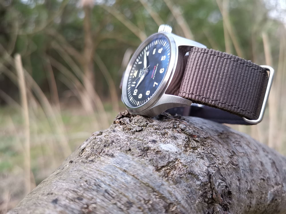 De IWC Pilot's Watch Automatic Spitfire
