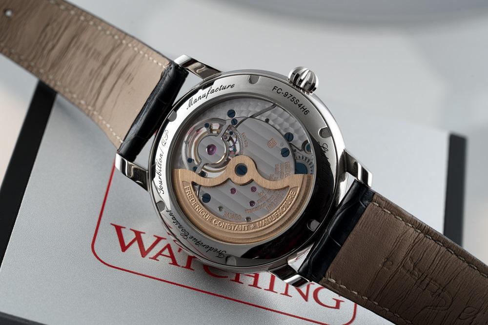Een pure haute horlogerie creatie in de beste traditie deze Frederique Constant Perpetual Tourbillon