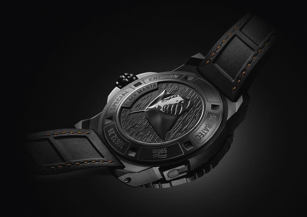 Patravi Scubatec Black Manta Special Edition