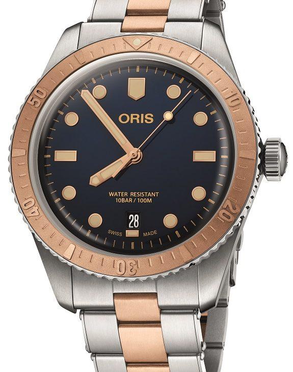 Vijf nieuwe varianten van de Oris Divers Sixty-Five