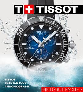 Tissot Seastar banner