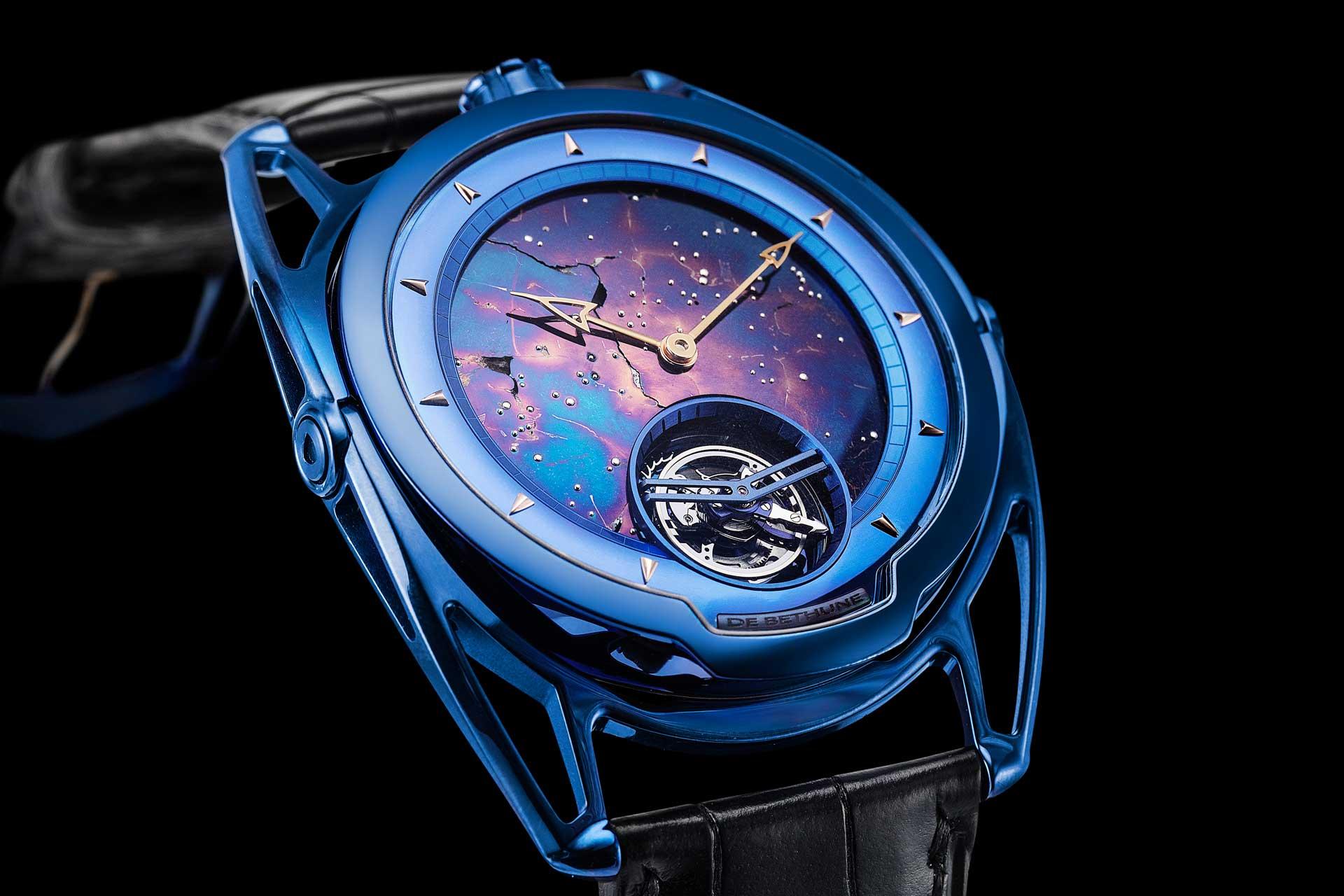 De Bethune x Urwerk Moon Satellite For Only Watch 2019
