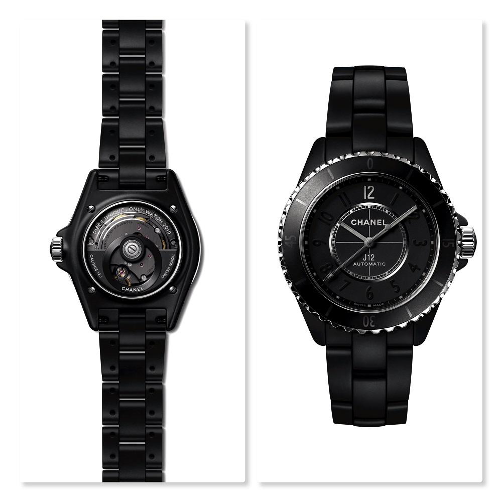 Chanel stuurt een J12 duo naar Only Watch