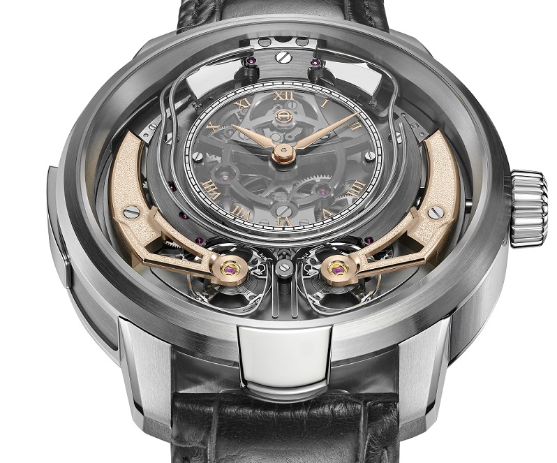 De Armin Strom Minute Repeater Resonance