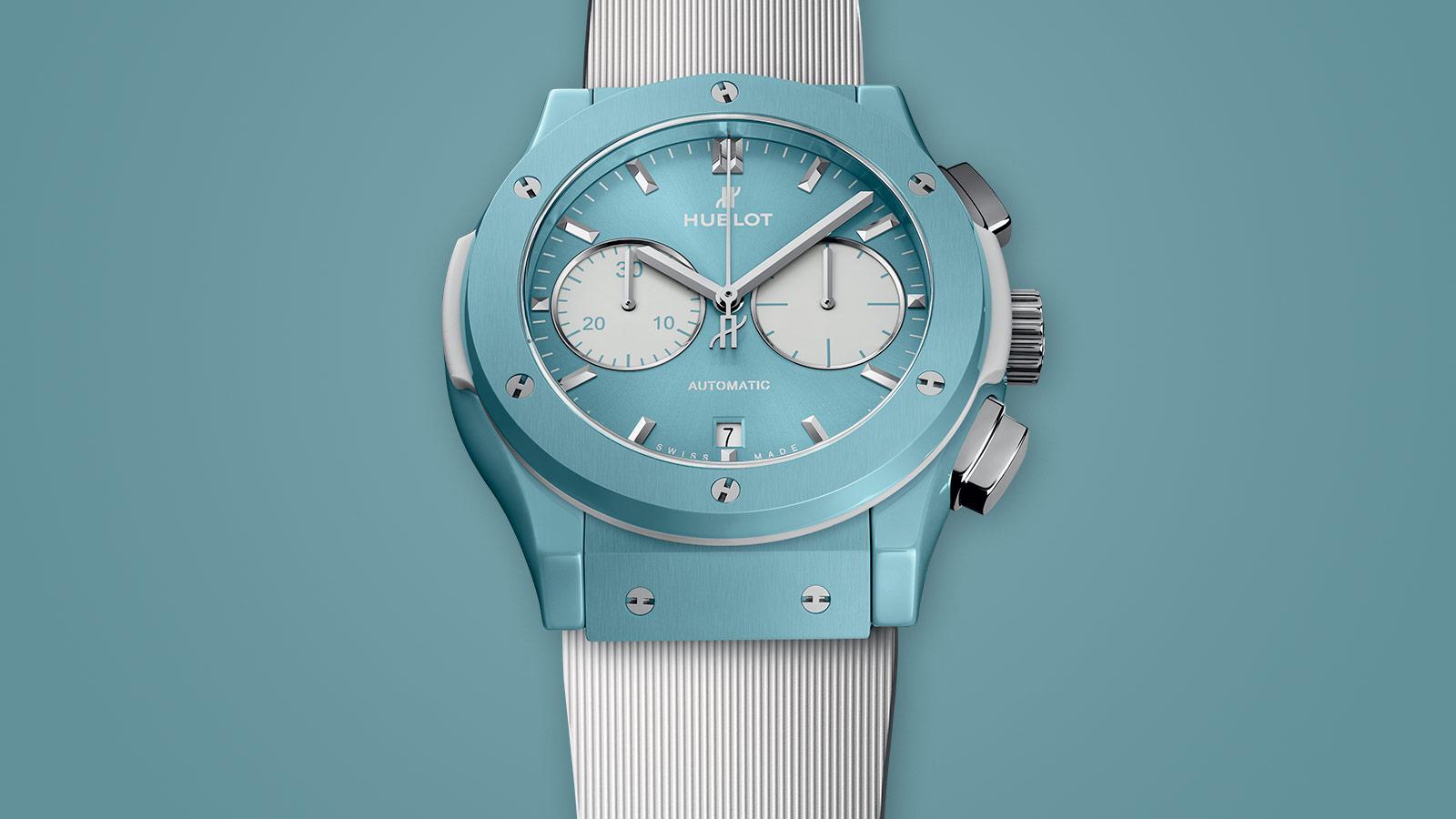 Het meest zomerse horloge is deze Hublot
