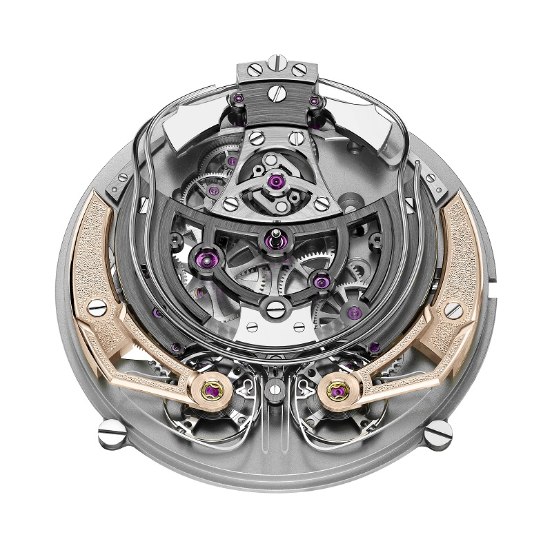 De tot 10 stuks gelimiteerde Armin Strom Minute Repeater Resonance