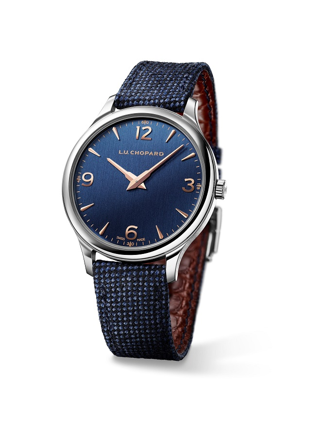 De stalen 40 mm Chopard L.U.C XP
