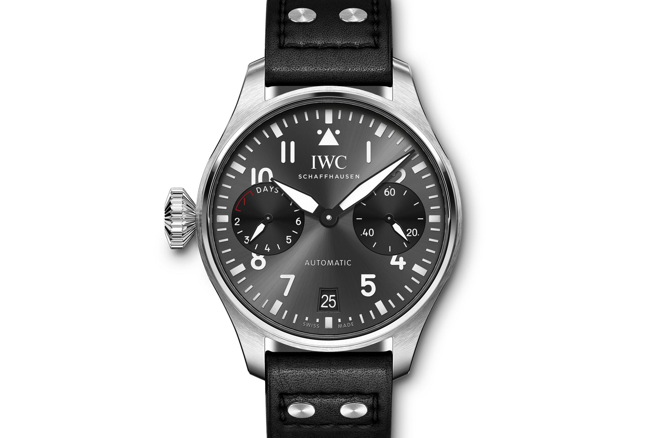De IWC Silver Spitfire is begonnen aan The Longest Flight