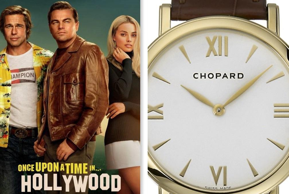 Net als DiCaprio in Tarantino met Chopard