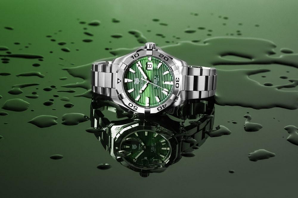 Groene TAG Heuer Aquaracers voor hem en haar