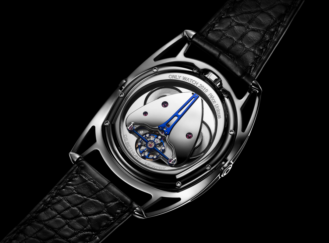 De Bethune x Urwerk Moon Satellite For Only Watch 2019