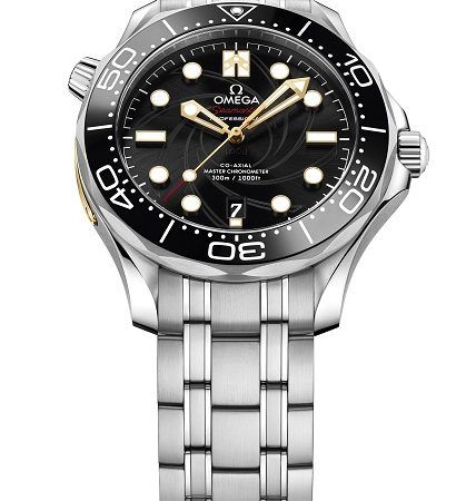 Omega Seamaster Diver 300M met James Bond-thema