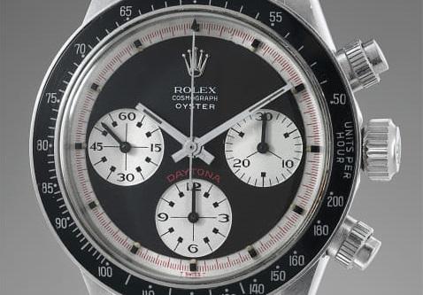 Vier zeer zeldzame non-professional Rolex