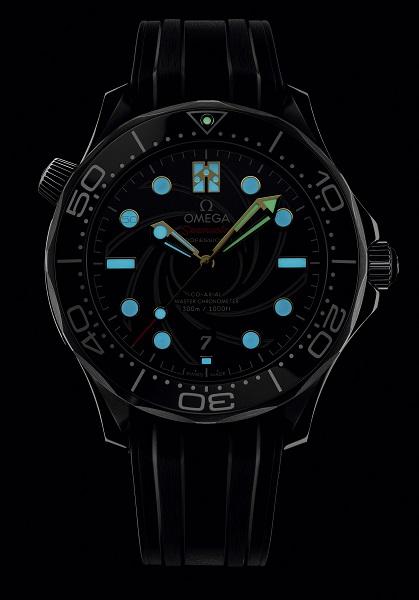 Omega Seamaster Diver 300M met James Bond-thema