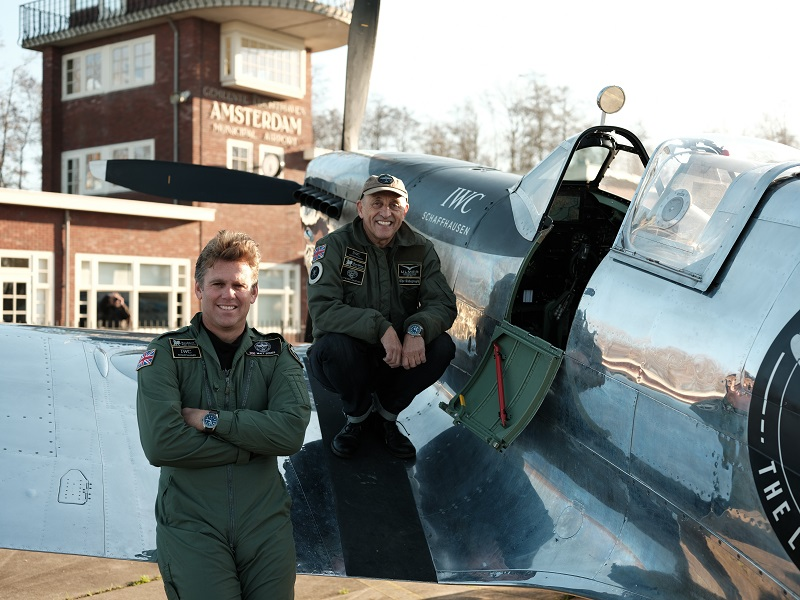 De IWC Silver Spitfire is weer thuis
